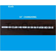 "32"" CHANGHONG 6Leds, LED подсветка для телевизора (комплект-3шт)"