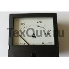 Амперметр  Э421 0-600А