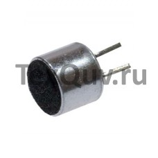 Микрофон EM-6050(p) с выводами, d=6mm,h=5mm