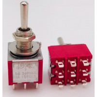 Тумблер MTS-303 2A-250V 9PIN (ON-OFF-ON)