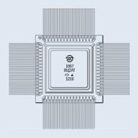 1867ВЦ2АТ (Au) микросхема (201* г)