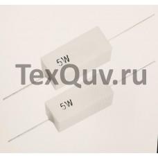 Резистор керамический SQP-5W0R1J (5Вт, 0.1 Ом, 5%)