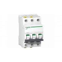 Автоматические выключатели Schneider Electric 3-полюсной C25А iC60N 6кА