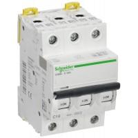 Автоматические выключатели Schneider Electric 3-полюсной C16А iC60N 6кА