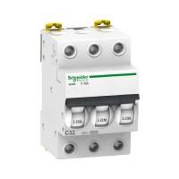 Автоматические выключатели Schneider Electric 3-полюсной C32А iC60N 6кА
