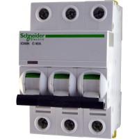Автоматические выключатели Schneider Electric 3-полюсной C40А iC60N 6кА
