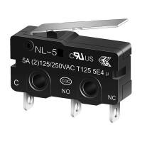 Микропереключатель с коротким рычагом NL-5Z
