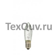 Лампа для Рождественских горок 14V (Вольта), 3W (Ватта), C13x45мм Е10