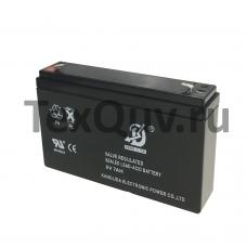 Аккумуляторная батарея KANGLIDA 6В 7 Ач