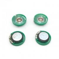 Мини-Динамик Зеленый Ультратонкий 32Ом 0,25Вт 21мм диаметр динамика-21мм толщина-9мм