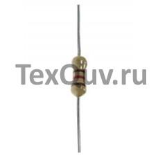 Резистор CF-1/4W 1,2К (0,25Вт, 5%, 1.2 кОм)