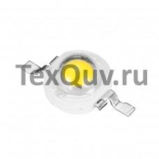 Светодиод без платы 1W 3,4V 100-110LM 2800-3000K (Желтый)