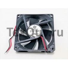 Вентилятор 80x80-25 12VDC 0,23А втулка (CLD8025SM DC12V SLEEVE)