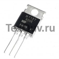Симистор ВТ137-600Е (7А-600В) (NXP Semiconductors)