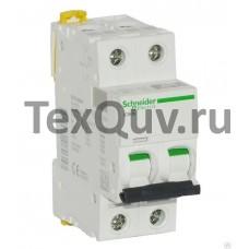 Автоматические выключатели Schneider Electric 2-полюсной C16А iC60N 6кА