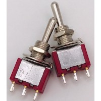 Тумблер STM-103 2A-250V 3PIN (ON-(OFF)-ON)