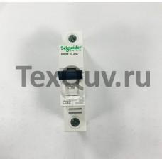 Автоматические выключатели Schneider Electric 1-полюсной C32А iC60N 6кА