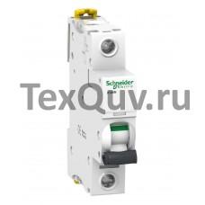 Автоматические выключатели Schneider Electric 1-полюсной C63А iC60N 6кА