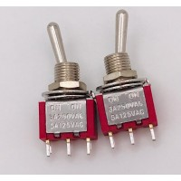Тумблер MTS-102 3A-250V 3PIN (ON-ON)