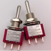 Тумблер MTS-123 3A-250V 3PIN (ON-(OFF)-ON)