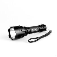 Светодиодный фонарик UltraFire, с режимом 1/5, водонепроницаемый фонарь 18650