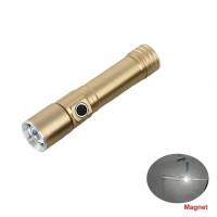 Портативный мини Магнитный фонарик 1000 люмен Q5, перезаряжаемый 18650