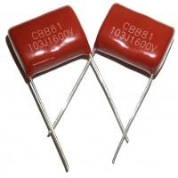 СВВ810,01мкФ(103J)-1600В пленочный конденсатор