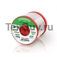 Припой HF32-SMD 0,7 мм Sn60/Pb40 флюс 1% катушка 500 гр