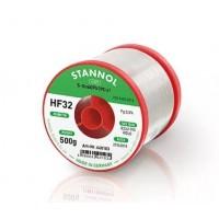 Припой трубчатый 0,8мм с флюсом HF32 1%  Sn60/Pb38/Cu2 500гр