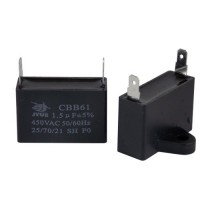 CBB61 1,5мкФ-450V пусковой конденсатор