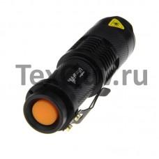 Портативный водонепроницаемый светодиодный мини-фонарик, 3800 лм, CREE XML-T6