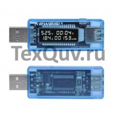 USB тестер Keweisi KWS-V20 для измерения тока и напряжения