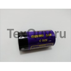 Батарейка ER26500 3.6V (Типоразмер С)