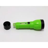 LED + COB мощный перезаряжаемый фонарик с 4 режимами работы, батарея 18650 USB (зеленый)