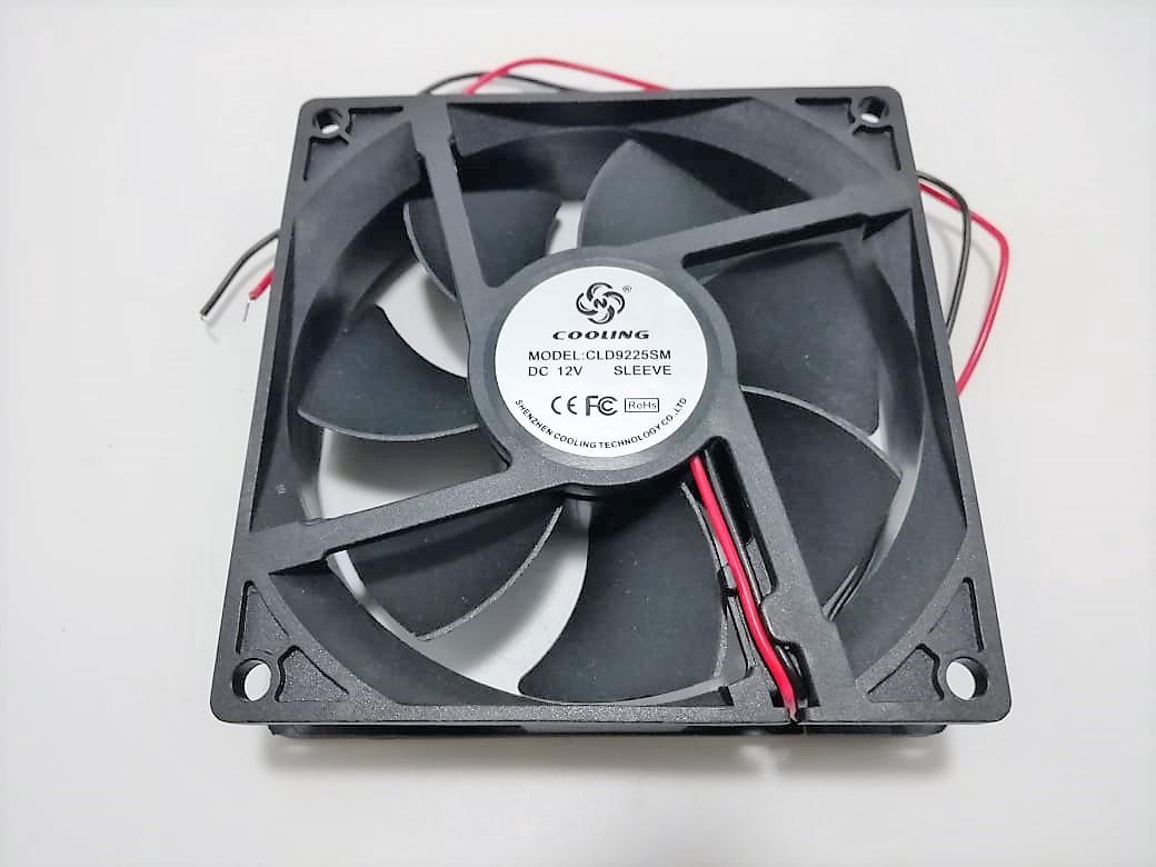Вентилятор 92x92-25 12VDC 0, 17А втулка (CLD9225SM DC12V SLEEVE)