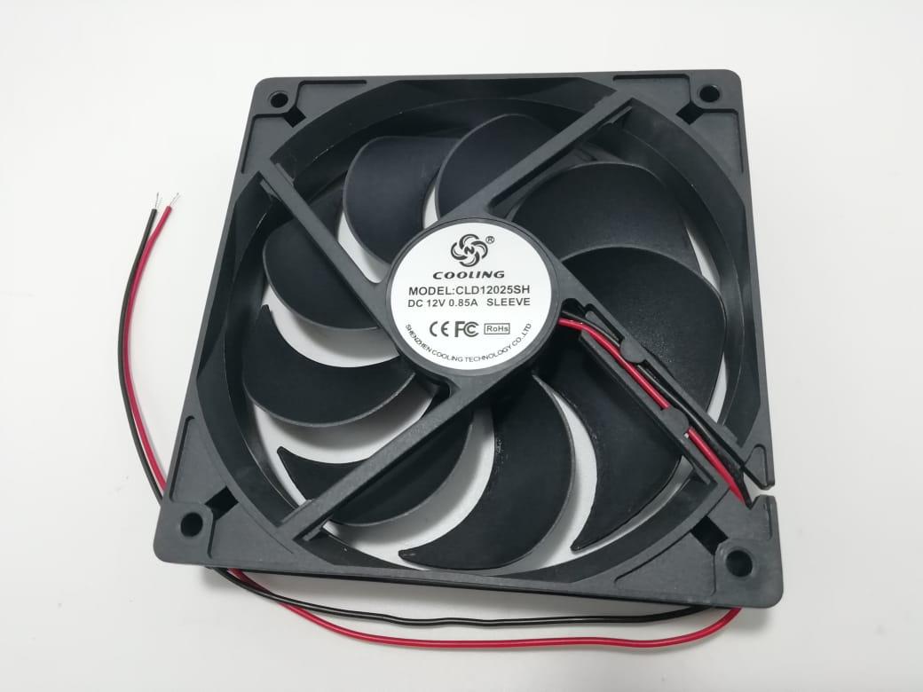 Вентилятор 120x120-25 12VDC 0, 17А втулка (CLD12025SH DC12V SLEEVE)